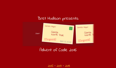 Advent of Code 2016